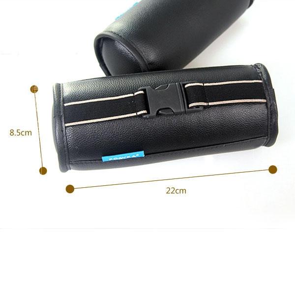 2x coussin cou appui t te auto cervical nuque support faux. Black Bedroom Furniture Sets. Home Design Ideas