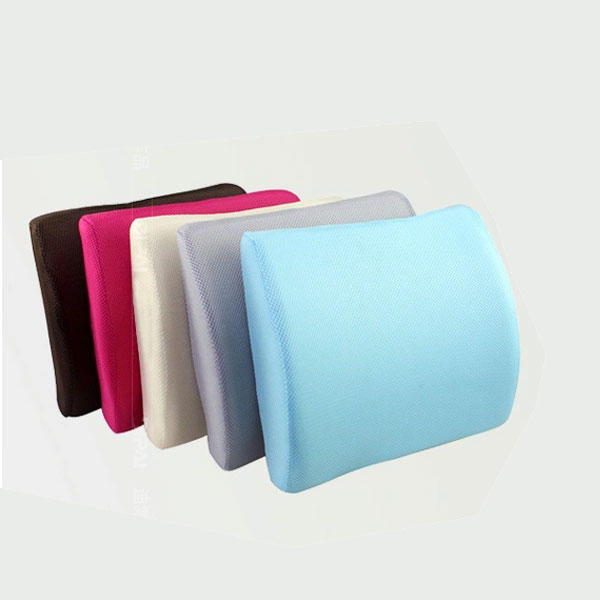 Car Lumbar Cushion Back Support Memory Foam Auto Ergonomic