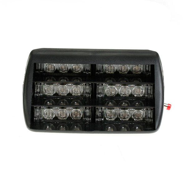 lumi re clignotant auto led 12v rouge urgence voiture camion. Black Bedroom Furniture Sets. Home Design Ideas