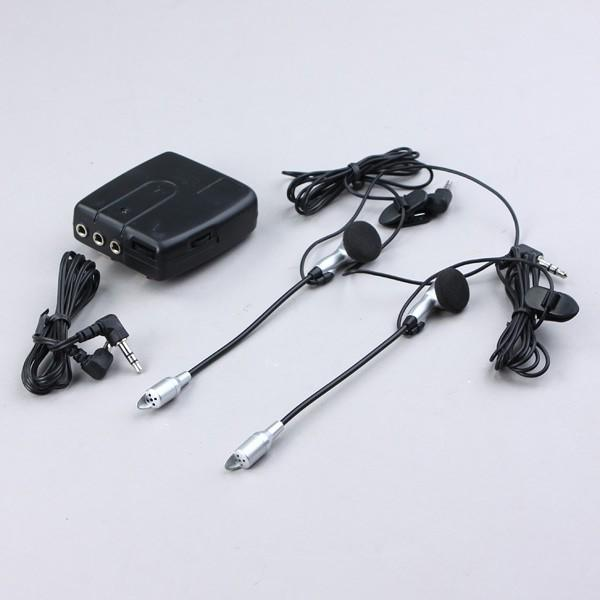 Motorcycle Helmet Intercom Headset Handsfree Motorbike 2-Way 96.5cm
