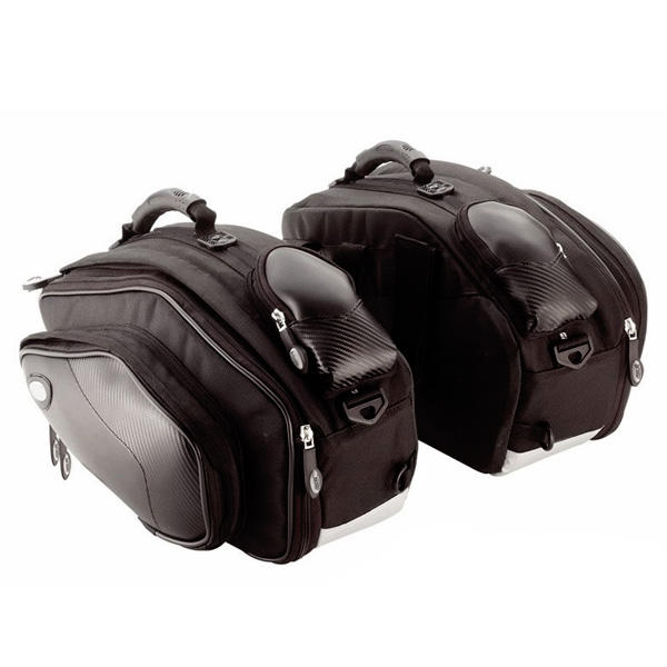 Sport Motorcycle Panniers with Expandable Bags Waterproof for Luggage