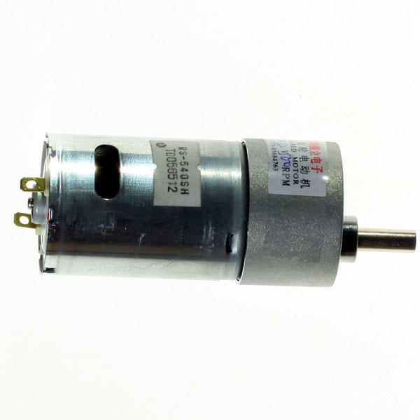 12v Brushless Torque Motor Electric Power 500rpm Transmission