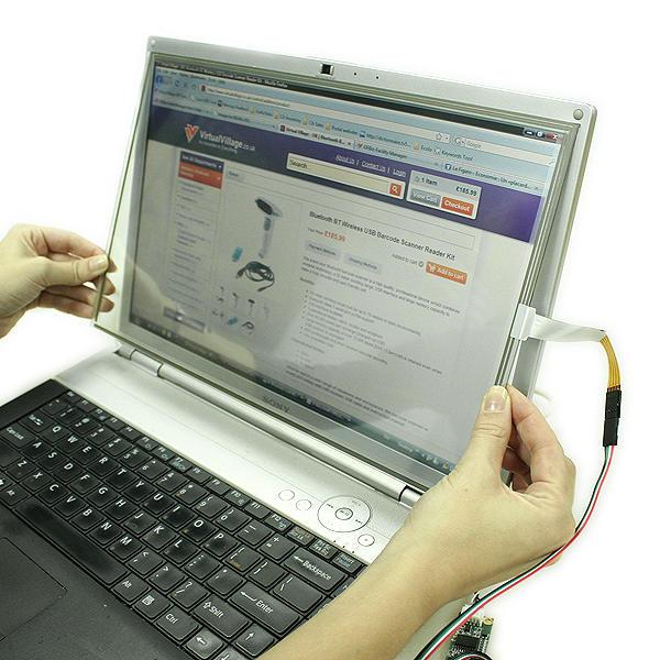 ecran tactile kit panneau 10 4 ordinateur pouces usb 4 fils. Black Bedroom Furniture Sets. Home Design Ideas