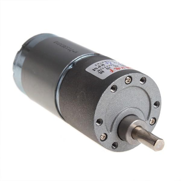 High torque electric motor 4 rpm 12v dc gear box motor 37mm for 2 rpm electric motor
