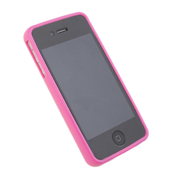 Funda iphone 4 perforada diy para personalizar punto de cruz fucsia - Personalizar funda iphone ...