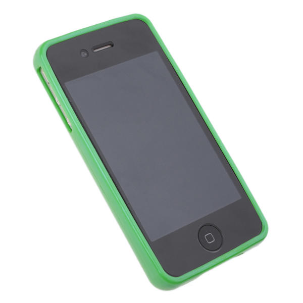 Funda iphone 4 perforada diy para personalizar punto de cruz verde - Personalizar funda iphone ...