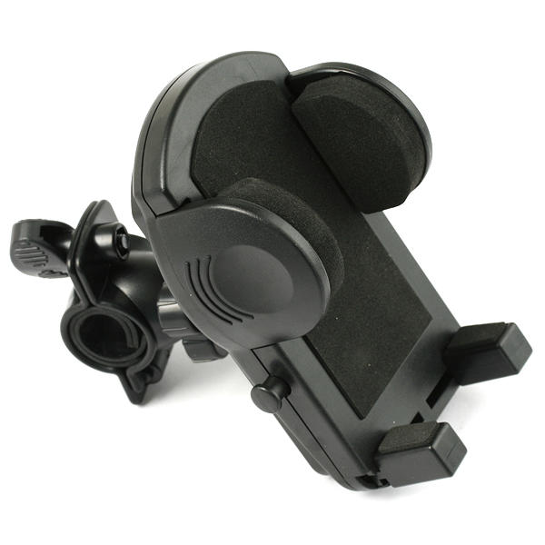 Bike Mobile Phone Holder for GPS MP3 Cellphones 360° Clamp