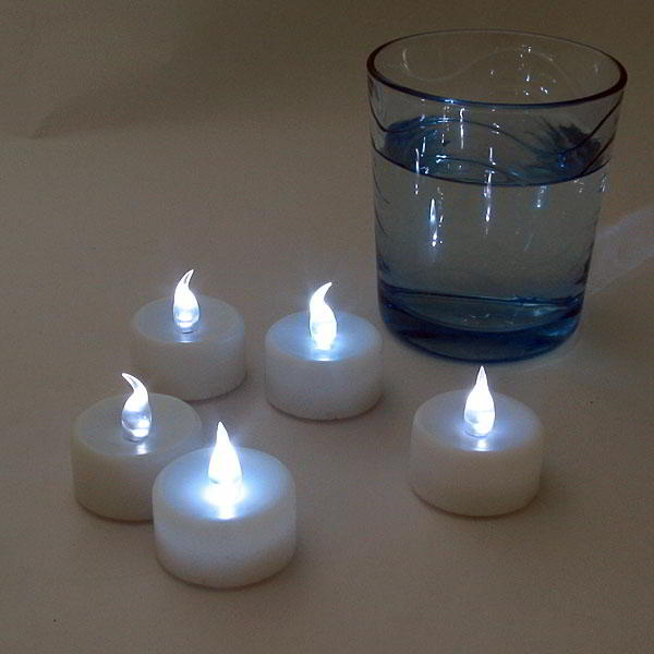 12x de velas led para decoracion de casa y jardin luz blanca - Luz led casa ...