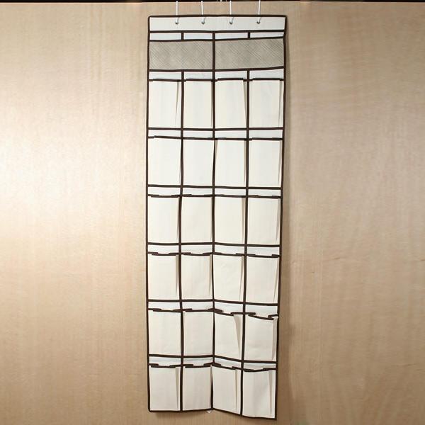 rangement suspendre avec 26 poches pour chaussures organisateur. Black Bedroom Furniture Sets. Home Design Ideas