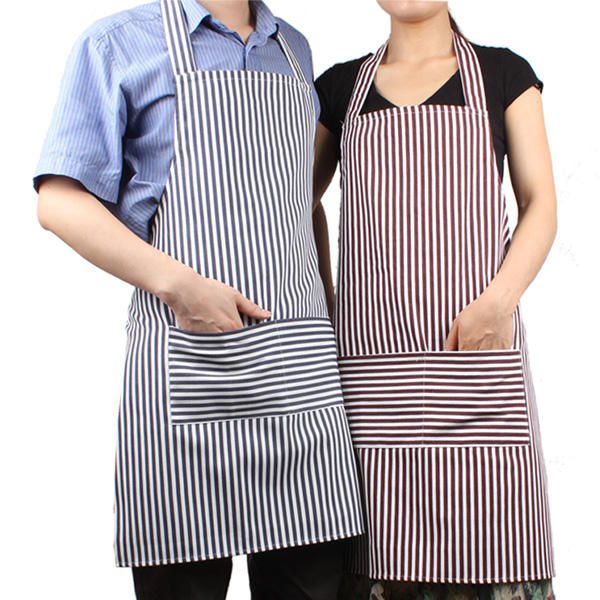 Kitchen Cooking Apron for BBQ Chef Women Men in Canvas Linen Korean