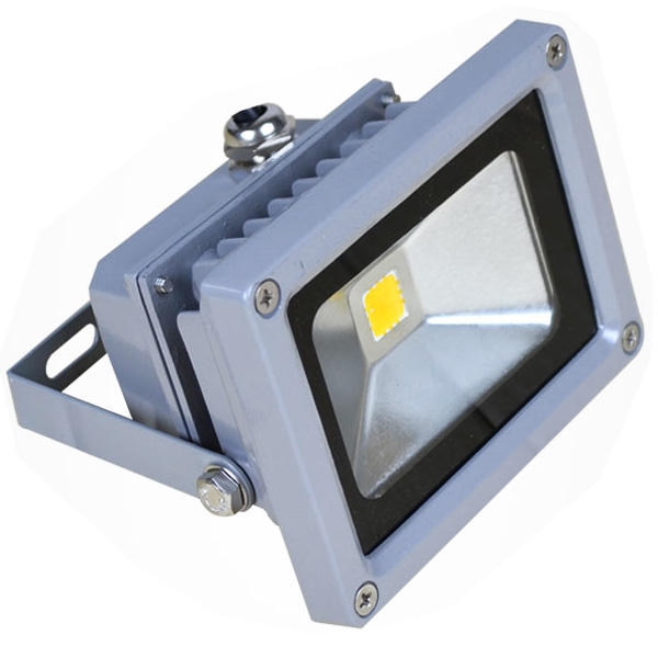 Foco led exterior reflector luz proyector 10w blanco for Focos led exterior 150w