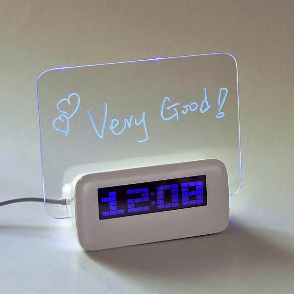 orologi da tavolo a led luminosi