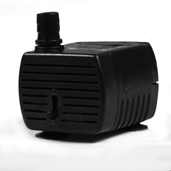 220V Submersible Water Pump 200L/H Mini Electric for Aquarium 2.5W 3W