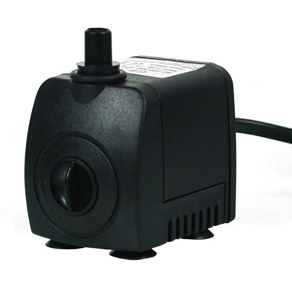 8W Submersible Mini Water Pump AC 220V 550L/H for Aquarium Fountain