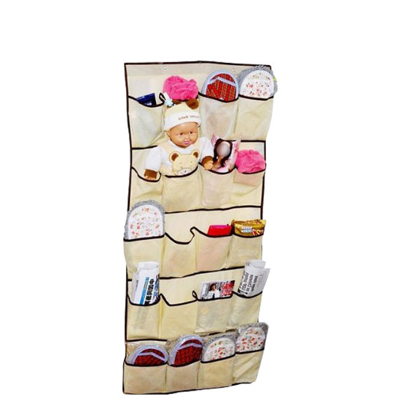 Rangement suspendre avec 26 poches pour chaussures - Range chaussures a suspendre ...