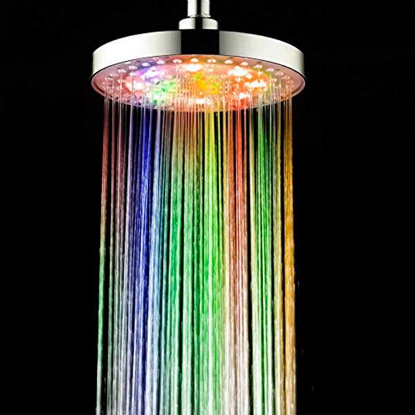 Keuken Kleur Veranderen : Color LED Shower Head