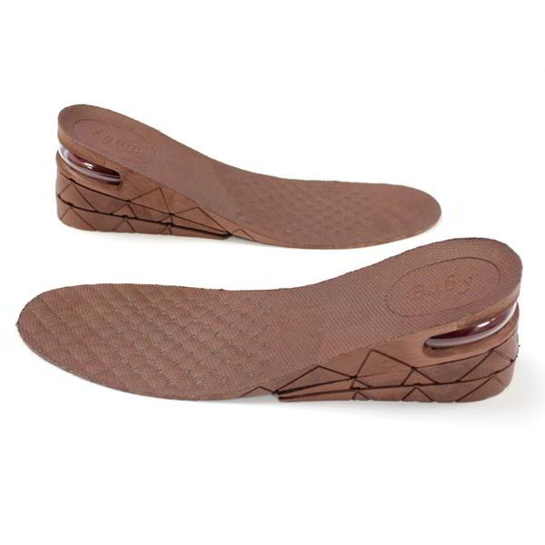 Alzas para Zapatos Plantillas para Crecer Elevadoras 7cm o 9cm Marron