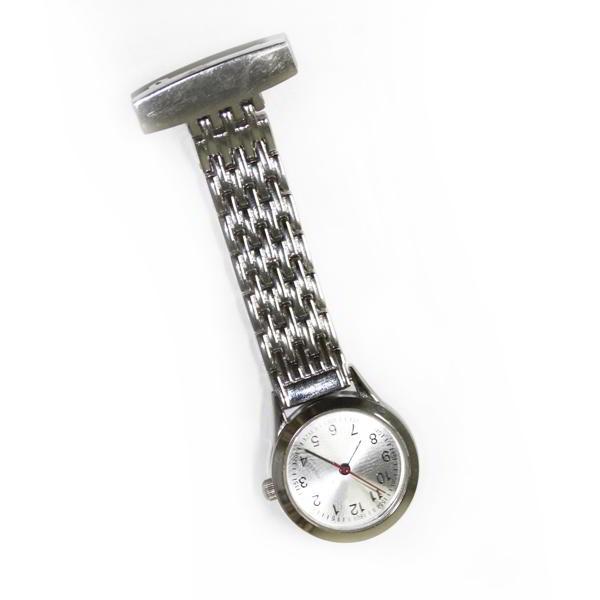 12x de Relojes de Enfermera con Sujeción de Broche Metálico