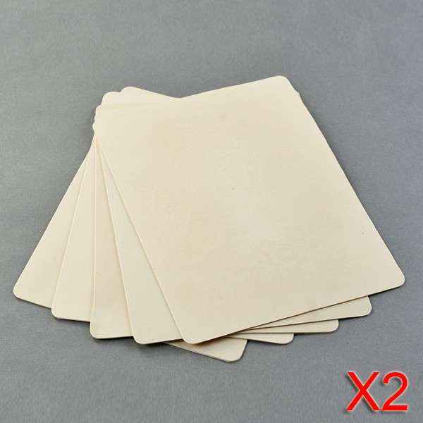 10x Tattoo Practice Skin for Beginners Double Sided 15x20cm Sheets