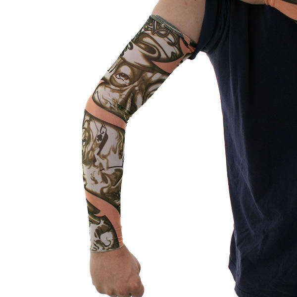 12x manche tatouage pour bras jambe faux visages nylon. Black Bedroom Furniture Sets. Home Design Ideas