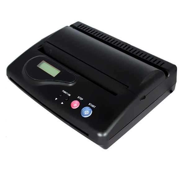USB Thermal Copier Stencil Machine Transfer Maker for Tattoo - Black