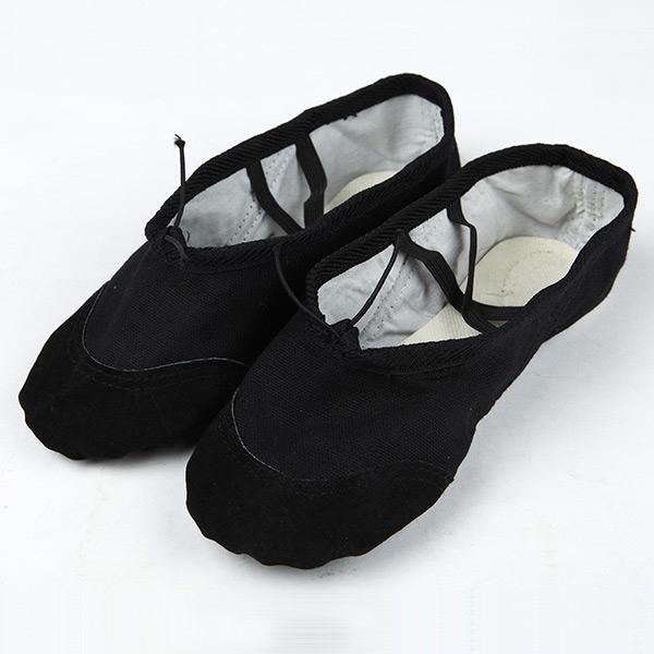 ballet slippers shoes split sole ballerina classic canvas