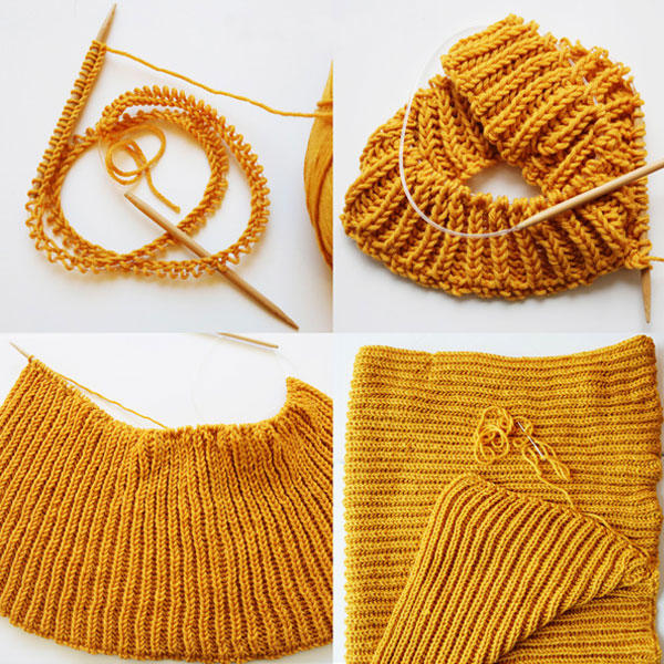 Circular Knitting : ... 11 pairs 80cm Circular Knitting Needles in Bamboo Knit Fixed 2.5mm