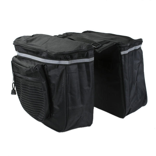 Bicycle Panniers Bike Tool Bag with Velcro Straps in Nylon