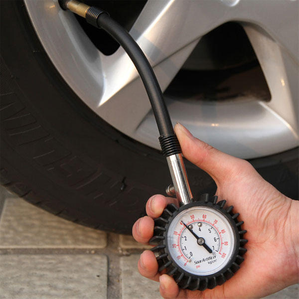 Portable Tyre Pressure Gauge for Bicycle Motorbike Car Pneumatics