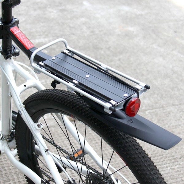 Carrier Luggage Rack for Bicycles with Rear Mudguard Up to 25Kg