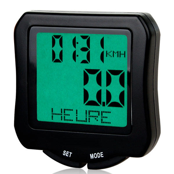 odometre compteur velo kilometrique digital et etanche avec tachymetre. Black Bedroom Furniture Sets. Home Design Ideas