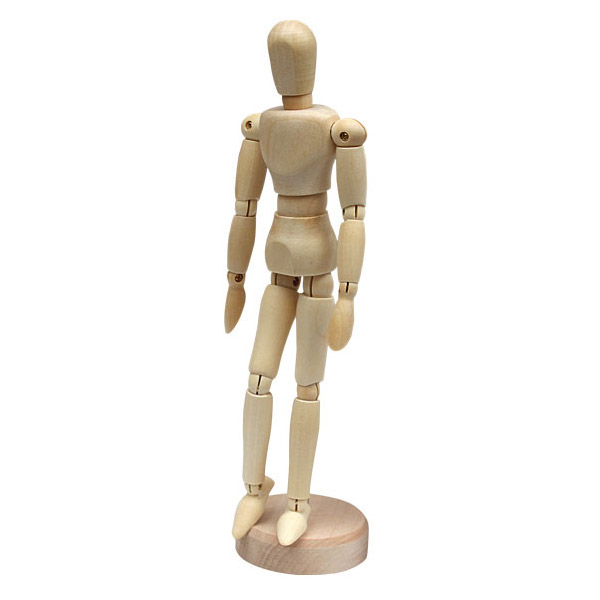 Wooden Mannequin Articulated Manikin 20 Quot For Drawing