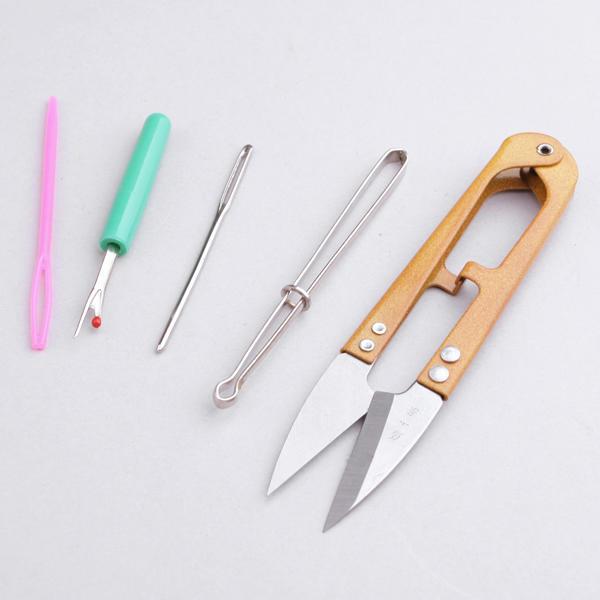 Knitting Tools Kit : Kit of knitting and sewing tools basic knit set