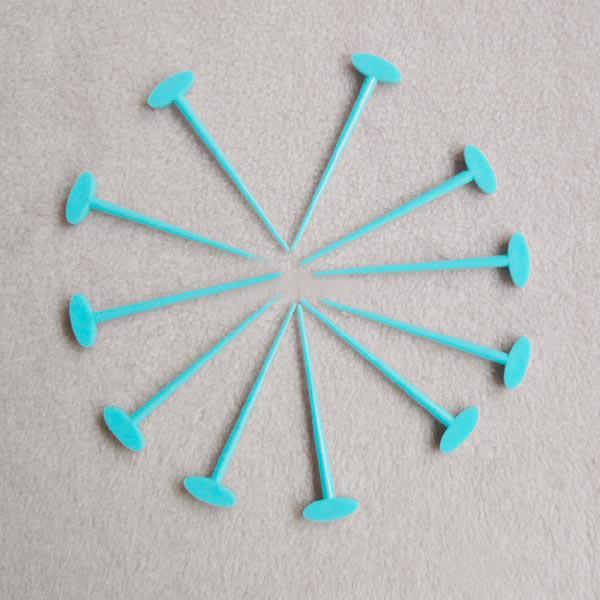 Set de 100 Alfileres Plasticos para Unir Piezas en Labores de Tejido