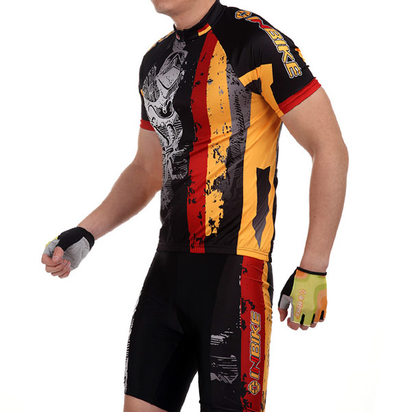 maillot cyclisme shorts allemagne pour cycliste velo vtt. Black Bedroom Furniture Sets. Home Design Ideas