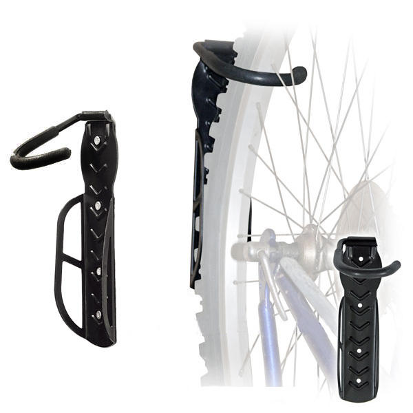 Bike Wall Mount Hanger Hook Rack for Space Saving 30Kg in Steel