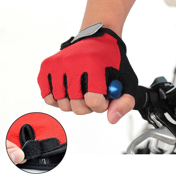 Fingerless Bike Gloves in Microfiber Antiperspirant Cycling Grip