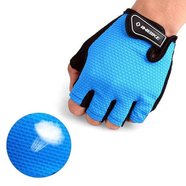 gants sans doigts de v lo en microfibre pour cyclisme 4. Black Bedroom Furniture Sets. Home Design Ideas