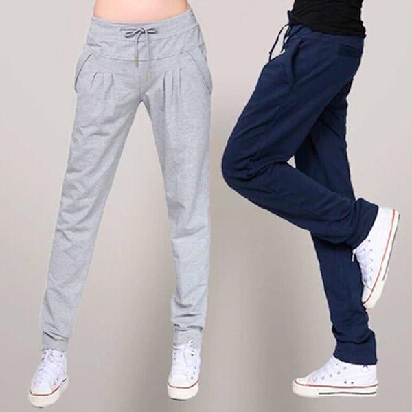 Pantalones para Yoga Pants Gym Fitness Harem Pilates Adulto f02f9cd7a6b6