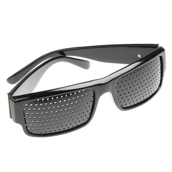 0ccb7b0c13d50 Oculos Reticulado Pinhole Ioga para os Olhos Preto Cuadrado Retro