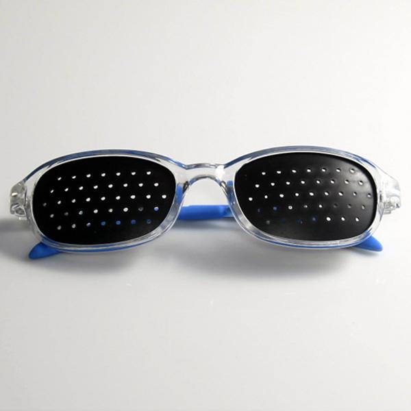 Gafas Reticulares para Niños Lentes Estenopeicos Pinhole Azules