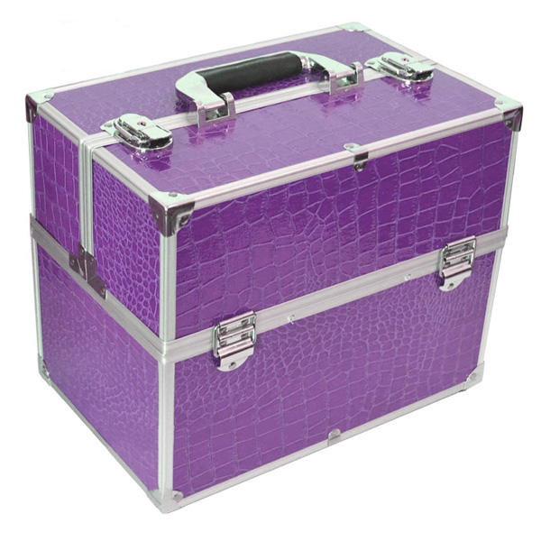 mallette de maquillage valise de rangement cosm tique ongle art mobile. Black Bedroom Furniture Sets. Home Design Ideas