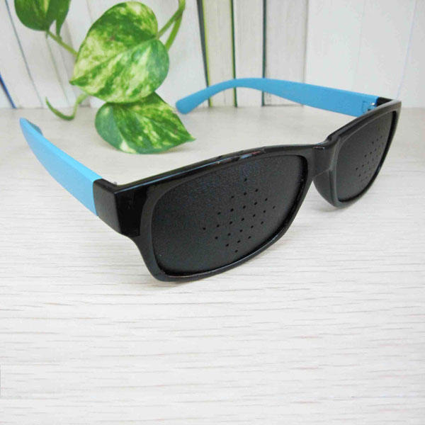 Stylish Pinhole Glasses for Eye Training Stenopeic Eyeglasses Assorted
