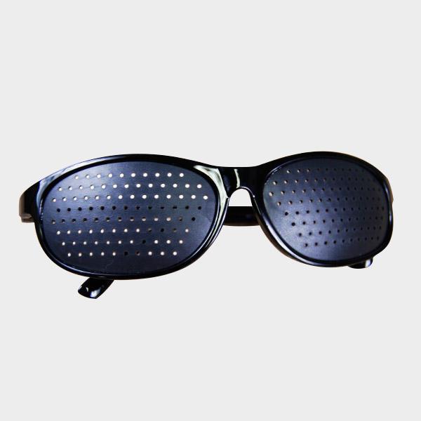 8276fe390c963 Oculos Pinhole Esportivos Furadinhos Cura Natural Exercitar Olhos