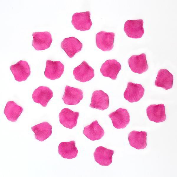 1000x petales de rose soie rose pour mariage buffet. Black Bedroom Furniture Sets. Home Design Ideas