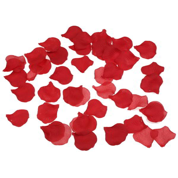 1000 Red Rose Petals for Confetti and Wedding Reception Decor