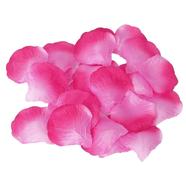 1000 Rose Petals Pink & White Mix for Wedding Decor Valentine's Day