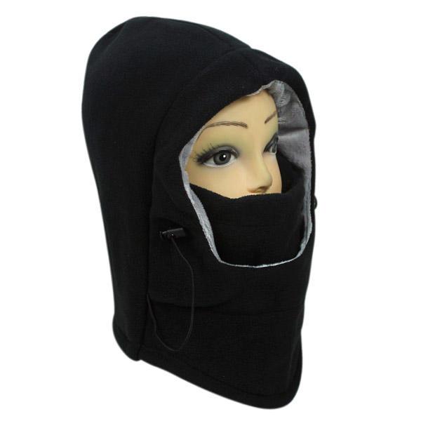 bonnet hiver cache cou cagoule capuche sports en laine. Black Bedroom Furniture Sets. Home Design Ideas