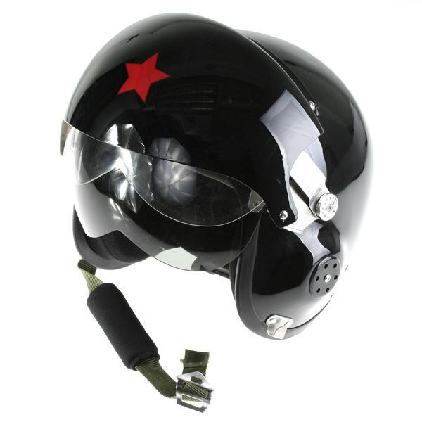 Casco Piloto Avion Fuerza Aerea con gafas oscuras para disfraz fiesta