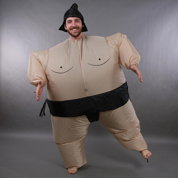 inflatable sumo wrestler suit japanese for fancy costume. Black Bedroom Furniture Sets. Home Design Ideas